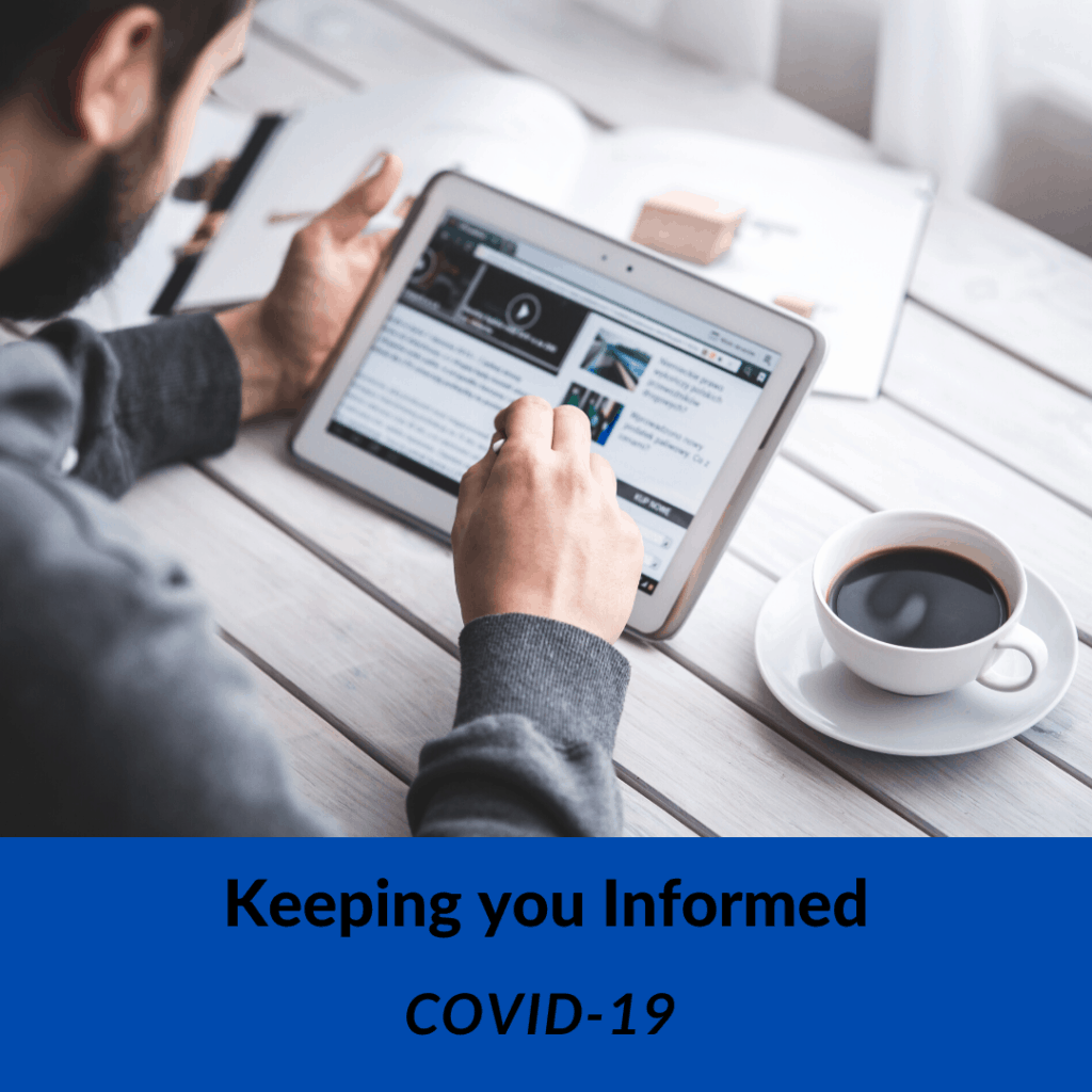 Stay Informed on Health Insurance Information and COVID-19 / Coronavirus Updates